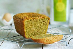 Gâteau aux amandes et au thé vert Matcha